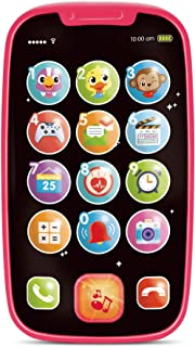 My First Smartphone – Cell Phone Baby Toy, for Toddlers and Young Children – 15 Unique Buttons and Functions, Musical Melo...