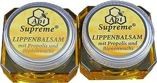 ApiSupreme Lippenbalsam Propolis 2x12ml Vertrieb: Naturprodukte-MV Lippen Balsam Pflege Balm Api Supreme