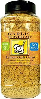 Garlic Festival Lemon Garli Garni Grande Seasoning 24 oz.
