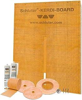 Schluter Systems Kerdi Board Waterproof Shower Kit, Model KBKIT