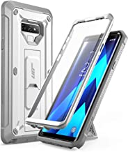 SUPCASE Unicorn Beetle Pro Series Design for Samsung Galaxy Note 9 Case, with Built-in Screen Protector & Kickstand Full-Body Rugged Holster Case for Galaxy Note 9 (2018 Release) (White)
