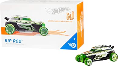 Hot Wheels id Vehicle Rip Rod with Embedded NFC Chip, 1:64 Scale