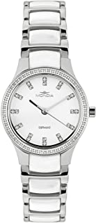 Mondia Affinity Mens Analog Quartz Watch with Ceramic Bracelet 12-004-02