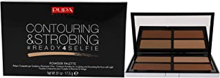 Pupa Milano Ready 4 Selfie Contouring and Strobing Compact Powder Palette - For a Perfect Hold - Create a Natural Looking ...