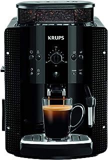 Krups EA8108 Roma - Cafetera Superautomática, 15 bares, molinillo de café cónico de metal, con selección de cantidad e int...