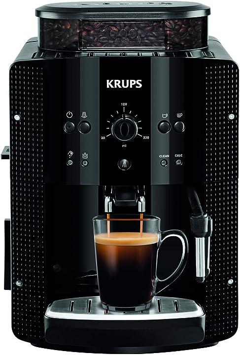 Macchina per caffe espresso krups ea8108 nero EA8108