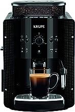 Krups Ea8108 Volautomatische Espressomachine, Automatische Reiniging, 2-Kopjesfunctie, Melkopsysteem met Cappucinoplus-Mon...