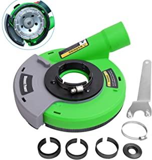 Diment Power Dust Shroud,Surface Grinding Dust Shroud for Angle Grinders 4.5-inch/ 5-inch,green