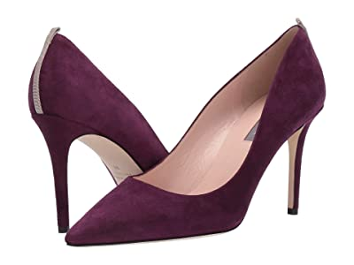 SJP by Sarah Jessica Parker Fawn 90mm (Velvet Rose Suede) Women