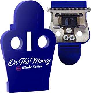 The Rich Barber On The Money 10 Second Blade Setter | Andis Compatible | Zero Gap Tool for Sharper Lines, Cleaner Fades & Precision Detail | Full Precision Shave in Seconds, Andis Styliner II