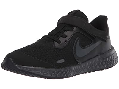 Nike Kids SINGLE SHOE FlyEase Revolution 5 (Little Kid) (Black/Black) Kid