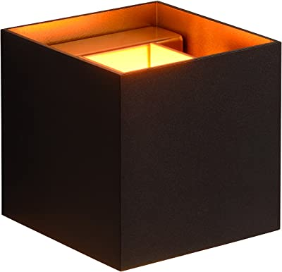 Lucide XIO - Applique Murale - LED Dim. - G9 - 1x4W 2700K - Noir
