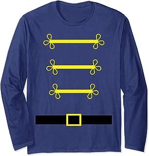 Toy Soldier Nutcracker costume uniform Shirt Christmas Gift Long Sleeve T-Shirt