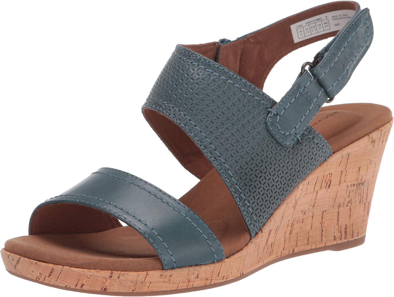 Rockport Women's Brand Cheap Sale Venue Briah Asym [Alternative dealer] Piece 2 Sandal Heeled