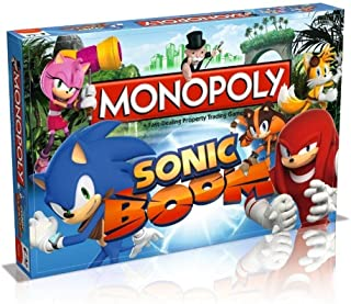 Sonic Boom Monopoly by MONOPOLY