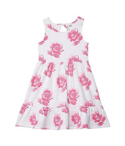 Janie and Jack Rose Print Jersey Dress (Toddler/Little Kids/Big Kids)