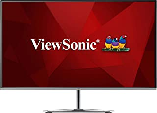 ViewSonic VX2776-SMH 27-inch IPS Full HD Monitor with 75Hz, VGA, 2X HDMI, Eye Care for Work and Entertainment at Home