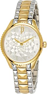 Police Adalyn Women Analogue Watch With Silver Dial And Silver And Gold Plated Stainless Steel Bracelet - PL 14989BSG-04MTA