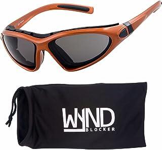 7f47466211 WYND Blocker Vert Motorcycle   Boating Sports Wrap Around Polarized  Sunglasses