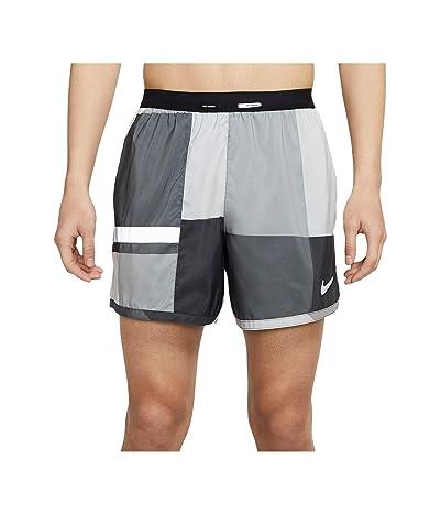 Nike Flex Stride Ultra Windrunner Print (Dark Smoke Grey/Iron Grey/Reflective Silver) Men