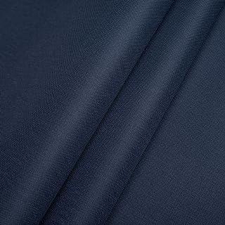 EDGE Handels Polyester Oxford 600D 1lfm - Wasserdicht, Outdoor Stoff, Segeltuch, Abdeckplane - Wasserdicht Dunkelblau