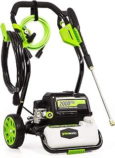 Greenworks GPW2000-1 2000 PSI 1.2 GPM Electric Pressure Washer