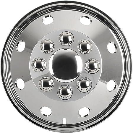 Radzierblendenset 1 Set 4 Stück Chrom 16 Zoll Universell Passend Für Wohnmobile Pkw Und Transporter Auto