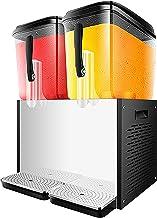 CLING Dryckesdispenser maskin kommersiell varm och kall dryck maskin varm dryck maskin buffé två cylindrar fruktjuice dryc...