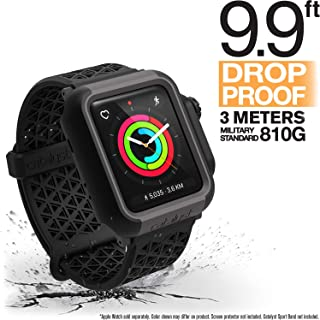 Catalyst Apple Watch Impact Case 42mm Series 3 & 2 Rugged iWatch Protective Case, Drop Proof Shock Proof Impact Resistant Apple Watch Case, Stealth Black