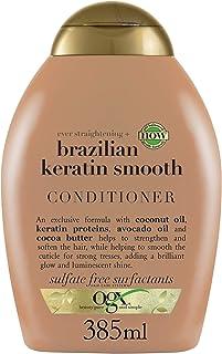 OGX, Conditioner, Ever Straightening+ Brazilian Keratin Smooth, 385ml