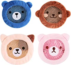 FOMI Premium Kids Hot Cold Ice Packs | 4 Pack | Soft Colorful Sleeves | Fun Animal Designed Children Gel Bead Wrap | Pain ...