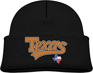 SARA NELL Toddler Boys Girls Knit Kids Hat American State Texas Beanie Hats  Skull Cap e1a18c6353b3