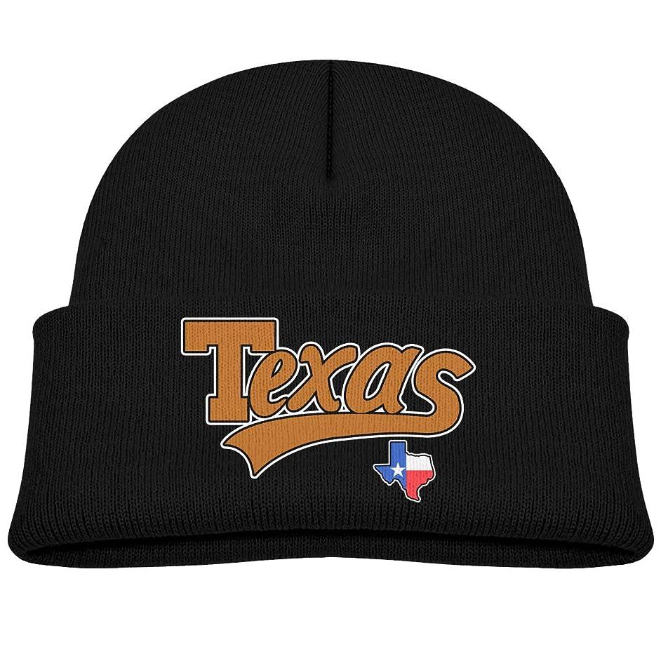 SARA NELL Toddler Boys Girls Knit Kids Hat American State Texas Beanie Hats Skull Cap