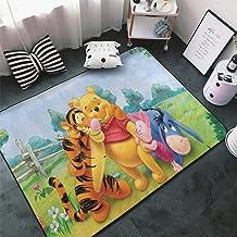 Win-nie The Pooh Non-Slip Area Rugs Home Decor, Floor Mat Living Room Bedroom Carpets Doormats 60 X 39 Inche