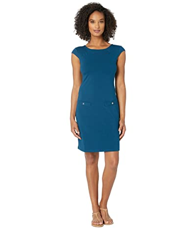 FIG Clothing Pia Dress (Sailor Blue) Women