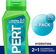 Pert Hydrating 2 in 1 Shampoo and Conditioner, 25.4 Ounce (Pack of 4)