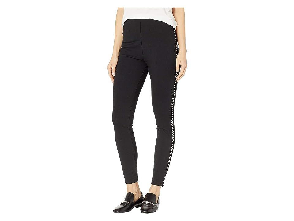 Lysse Cotton X Leggings (Black) Women