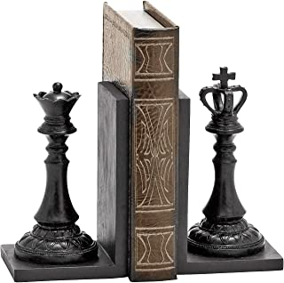 Bellaa 20850 Bicycle Bookends Pair Cycling Metal 8 inch