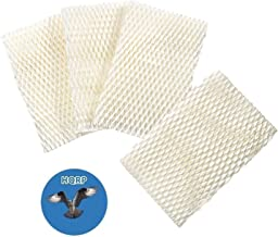 HQRP 4-Pack Wick Filter Compatible with Honeywell HCM-750 Series HCM750, HCM-750B, HCM750B, HCM-750-TGT, HCM750TGT Humidifiers