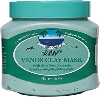 Nature Baunty Venos Clay Mask Aloe Vera, 600Ml