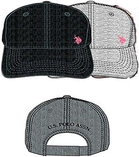 U.S. Polo Association Women's Adjustable Curved Brim Baseball Cap
