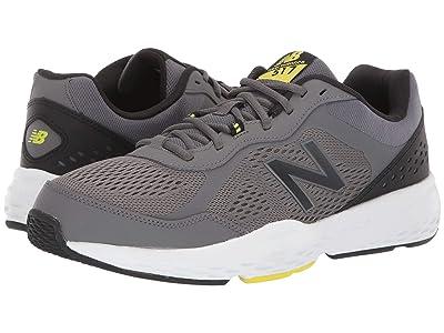 New Balance 517v2 (Castlerock/Sulphur Yellow) Men