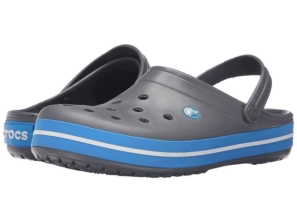 Crocs Crocband Clog (Charcoal/Ocean) Clog Shoes