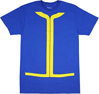 Fallout Vault Tec Shirt Men's Vault Dweller Costume T-shirt