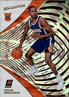 2018-19 Panini Revolution Fractal #141 Mikal Bridges Rookie Phoenix Suns NBA Basketball Trading Card