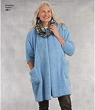 Simplicity Tops, Vest, Jkts, Coats-Xs-S-M-L-XL
