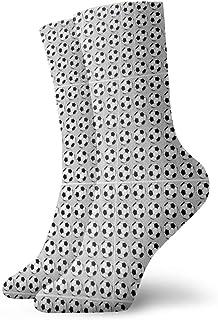 Jhonangel, Calcetines estampados de fútbol divertidos para niños y niñas Calcetines lindos de vestir de novedad
