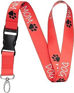 I love my sheep dog breakaway lanyard keys whistle ID badge pink puppy