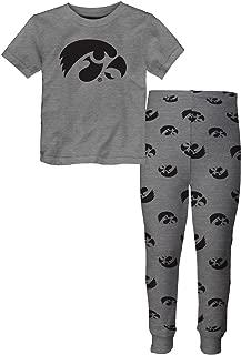 Outerstuff Iowa Hawkeyes Youth NCAA Overtime Pajama T-Shirt & Sleep Pant Set