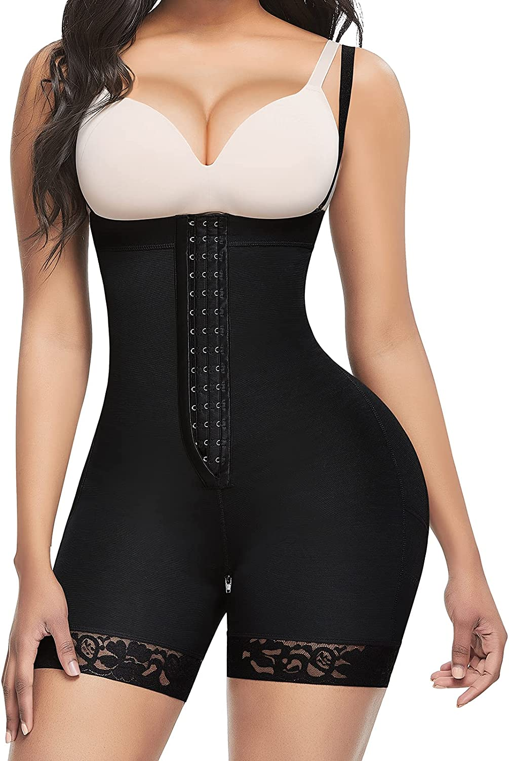 Lover-Beauty Shipping included Women High Compression Body Control Shaper Tummy sale Fa